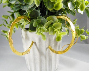 Hoop earrings, hoops, large rings Gold fill Hoop Earrings, Gold Filled Hoop Earring, Dainty, Medium, Simple Classic Hoops, Plain Hoops
