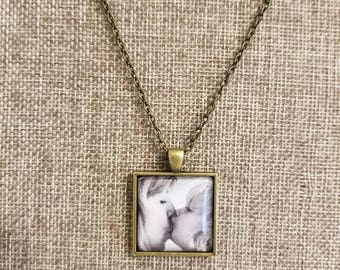 Square Photo Necklace
