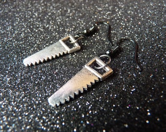Saw Gothic Earrings
