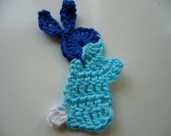 Blue Rabbit crochet cotton