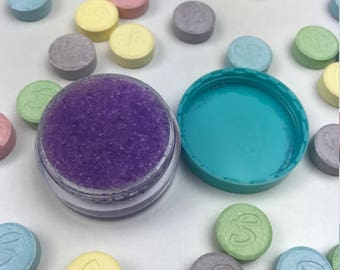 Edible SweeTarts Lip Scrub