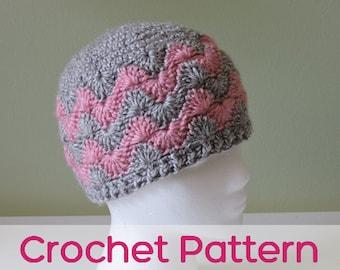 Chevron Hat - Crochet Pattern