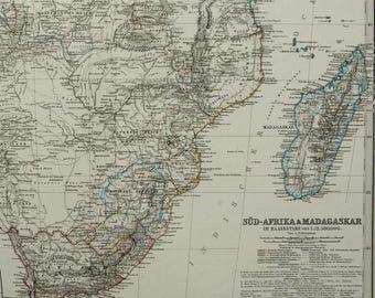 Namibia map Etsy
