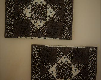 Scaredy Cats Placemats