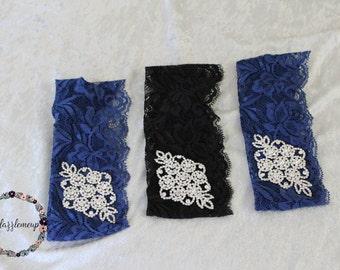 Womens Lace Headpiece - Bridal Headband - Wedding Headband - Womans Headband - Wedding Hairpiece - Wedding Accessory - Silver Headband