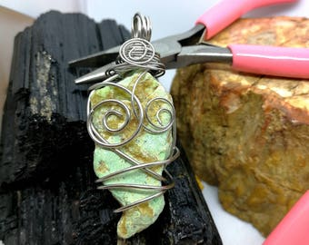 Steel Hand Braided Crisoplasio Pendant