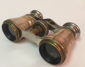 Mother of pearl opera glasses binoculars