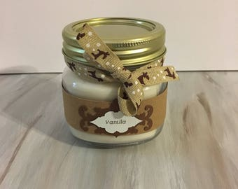 16 oz. Vanilla Soy Wax Candle Hand poured