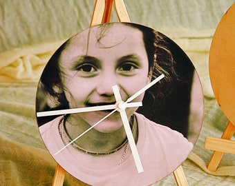 22 cm Silent Wall Clock Customize/with your picture