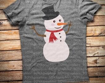 Snowman svg, Face SVG, Clipart, Cut Files,  Silhouette Cameo, Cricut, Vinyl File cutting, DXF, Png, Eps, svg, vector
