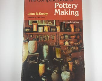 """Vintage Paperback Book, """"The Complete Book of Pottery Making"""", Second Edition, 1976"""