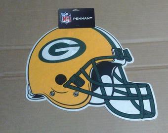 Green Bay Packers Helmet Pennant - Full size