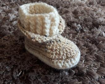 nice unisex baby booties