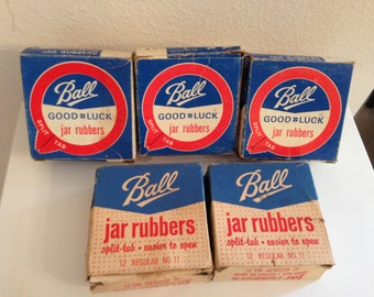 Vintage Ball Canning Jar Rubbers