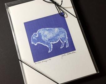 Buffalo Blueprints Notecards