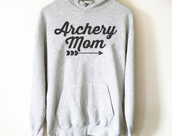 Archery Mom Hoodie - Archery Shirt, Archery, Archer, Archery Gift, Archery Bow, Archer Shirt, Archery Target