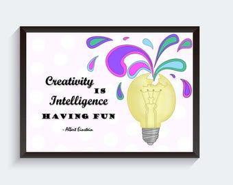 Inspirational Art Print, Office Wall Art, Inspirational Art, Quote Wall Art, Office Art Print, Instant Download, Digital Download