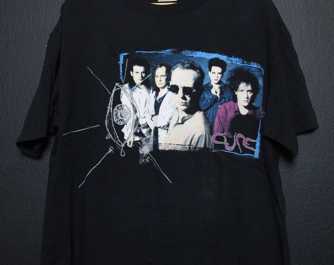 The Cure Wish Tour 1992 Vintage Tshirt