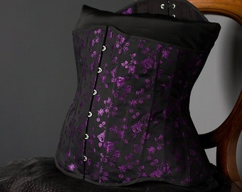 Spoon Busk Coutil Underbust Corset, Made to Measure