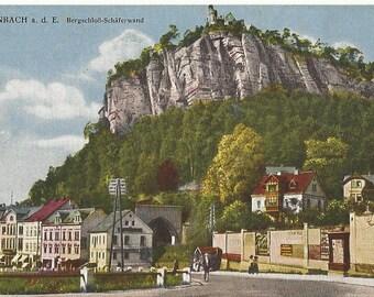 Bodenbach a.d.E. Bergschloß Schäferwand - Vintage Unused Postcard ca. 1920 #6339 - Tschechien, Czech Republic