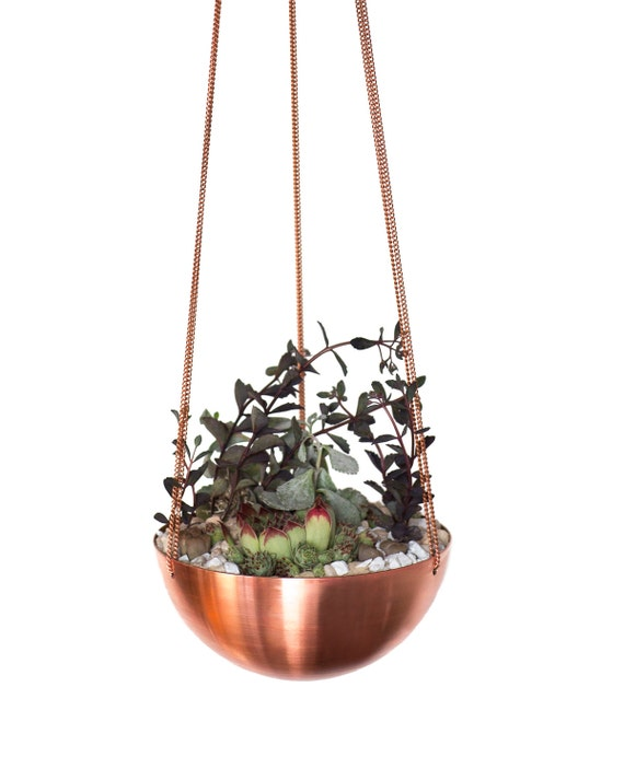 Sale Large Hanging PlanterBasket with hand spun