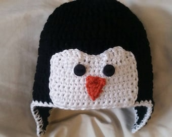 Chilly Penquin Hat