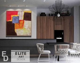 Abstract wall art, Original painting, Abstract Art, Abstract Painting, Large Abstract painting, Painting Abstract, Contemporary art, Canvas