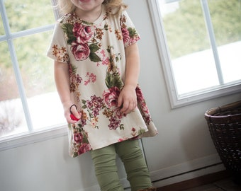 Scalable - scalable - scalable child shirt - tunic dress floral