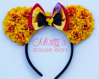 LIMITED! Inspired WInnie the Pooh Rose Mouse Ears
