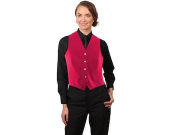 Women's  Fuchsia Full back dress vest