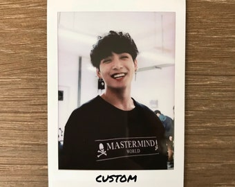 real custom kpop instax polaroid
