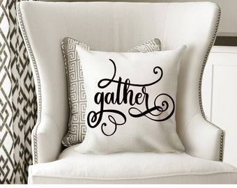 Gather, Thanksgiving, Fall Svg,Dxf,Png,Jpeg