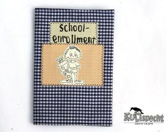 schoolenrollment-gift, 1st schoolday, Enrollment, mini-album,