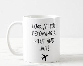 Funny Pilot Mug, Pilot Mug, Pilot Gifts, Airplane Mug, Co-Pilot Gift, Aviation, Aviation Gifts, Pilot Mug, Gifts For Pilots, Plane Mug