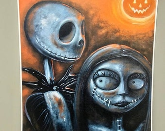 Clearance Jack and Sally Sunset ( prints )