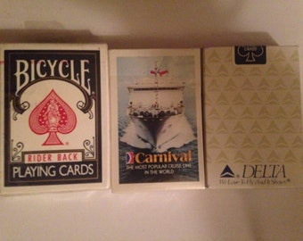 New poker cards