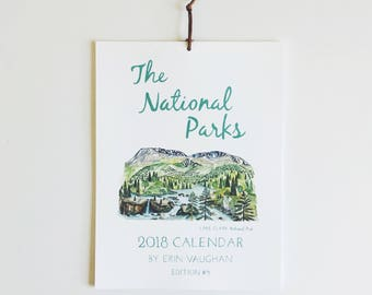 2018 Edition #4 National Park Calendar