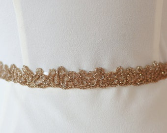 "Jaxie ""Coco"" Bridal Belt"