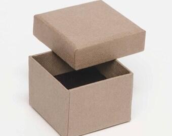 Boîte de carton bague 5 x 5 x 4 - Pack de 50