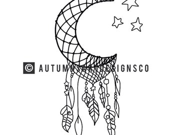 Adult Moon Coloring Page