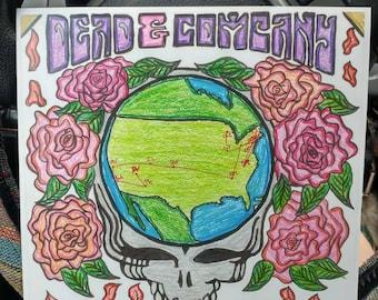 Dead & Company 2017 Tour poster