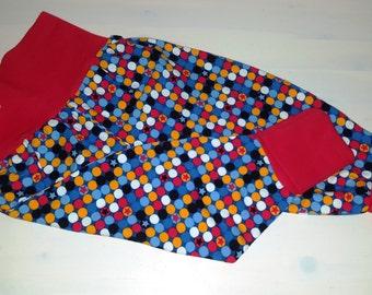 Harem trousers for children Gr. 74/80