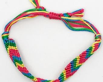 "6"" - 10""  woven friendship bracelet"