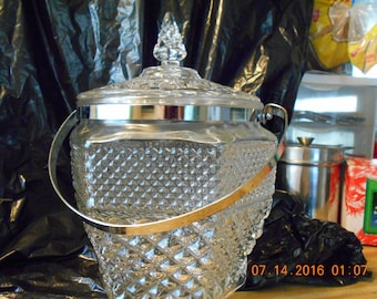 Wexford Ice Bucket by Anchor Hocking