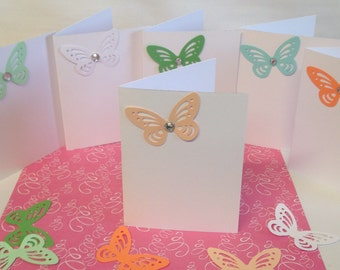 Note cards, gift cards, thank you cards, wedding cards, place cards, wedding place cards, gift tags, personalized card, set of 6