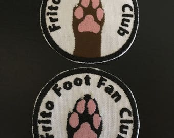 Frito foot fan club patch