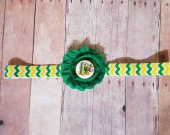 Oregon headband-Oregon baby-newborn oregon-Oregon baby shower gift-Oregon girl/girl oregon ducks/oregon ducks stocking stuffer