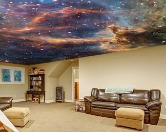 Perfect Space Ceiling Decal   Custom Wall Sticker   Universe Milky Way Stars Room  Mural   Fantasy