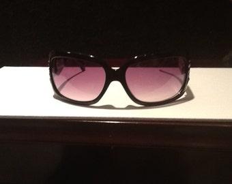 Black Sunglasses with Swarovski Crystals