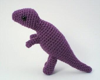 PDF Tyrannosaurus Rex - amigurumi dinosaur CROCHET PATTERN